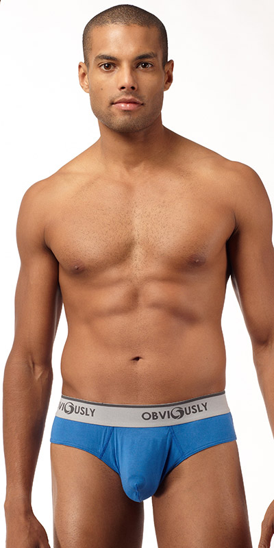 Obviously Naked Brief with Contour Pouch