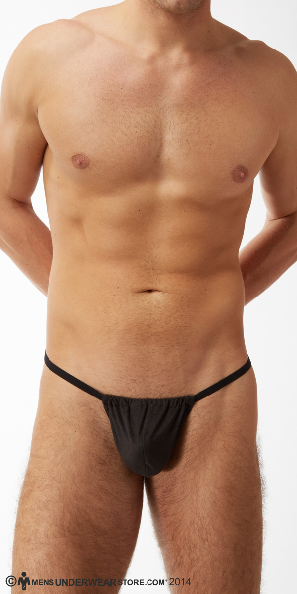 Male Power Stretch Suede Posing Strap