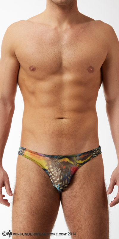 Male Power Aquarius Mesh Brazilian Bikini