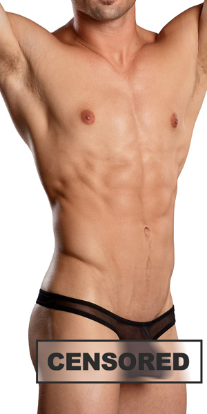 Male Power Euro Male Mesh Mini Pouch Thong
