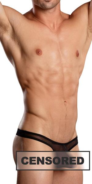 Male Power Euro Male Mesh Mini Pouch Thong
