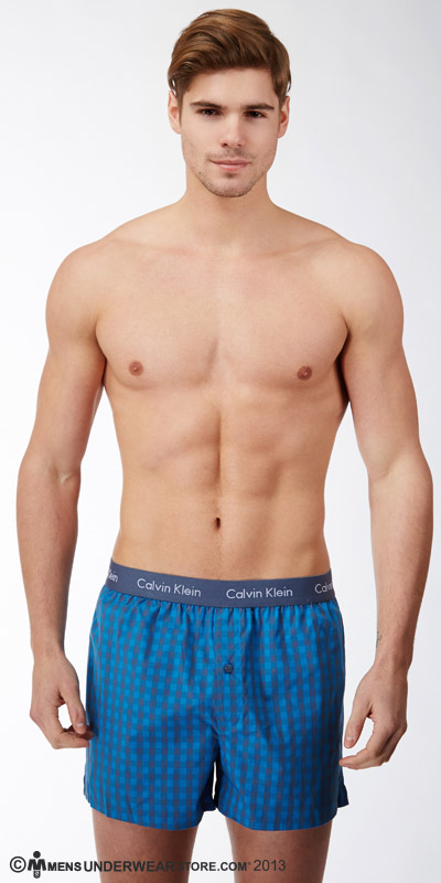 Calvin Klein Woven Slim Fit Boxers