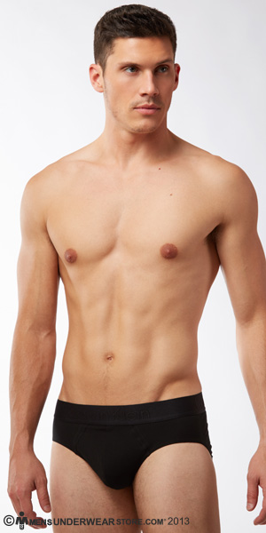 Calvin Klein Black Cotton Hip Brief
