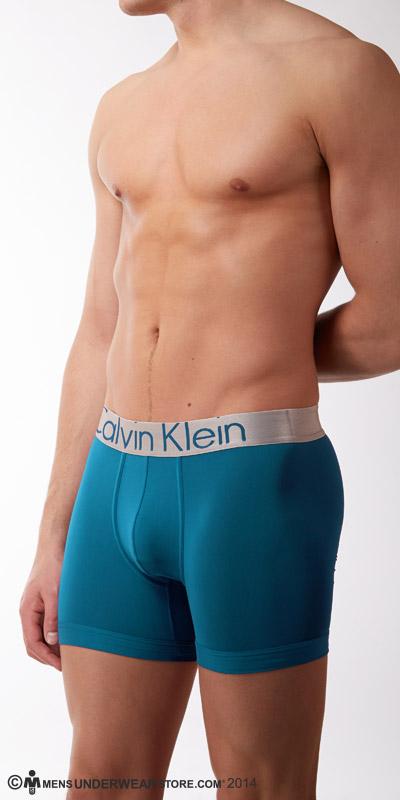 Calvin Klein Steel Microfiber Boxer Briefs