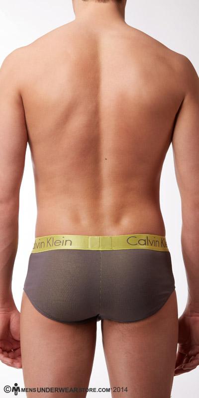 Calvin Klein Dual Tone Square-Cut Briefs