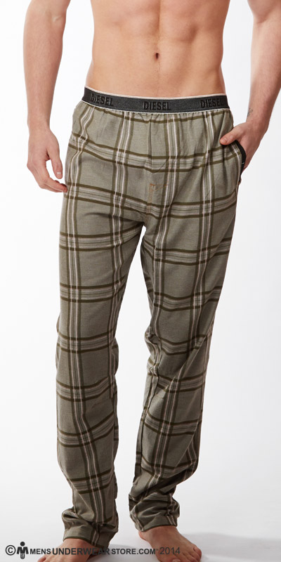 Diesel Plaid Workboy Pants