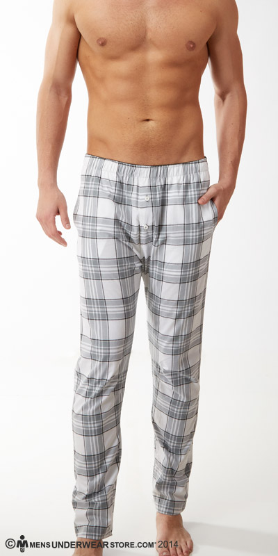 Diesel Plaid Workboy Trouser