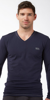 Diesel Jody V-Neck Long Sleeve Shirt