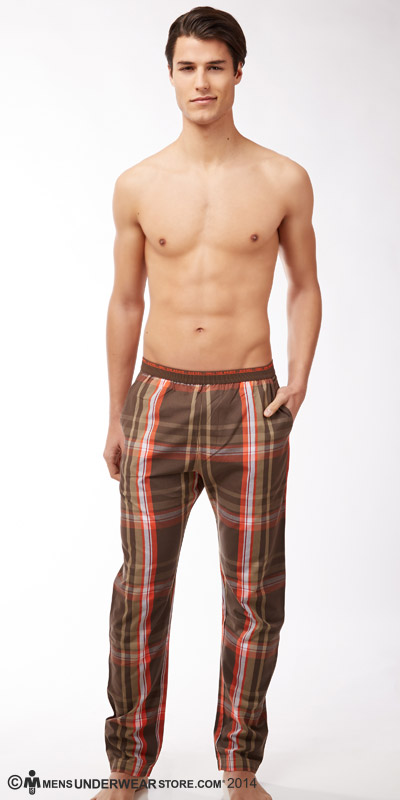 Diesel Plaid Lounge Workyboy Pants