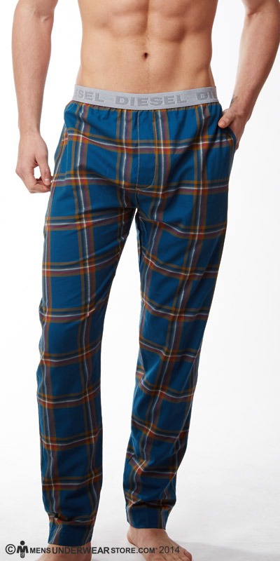 Diesel Plaid Derik Pants