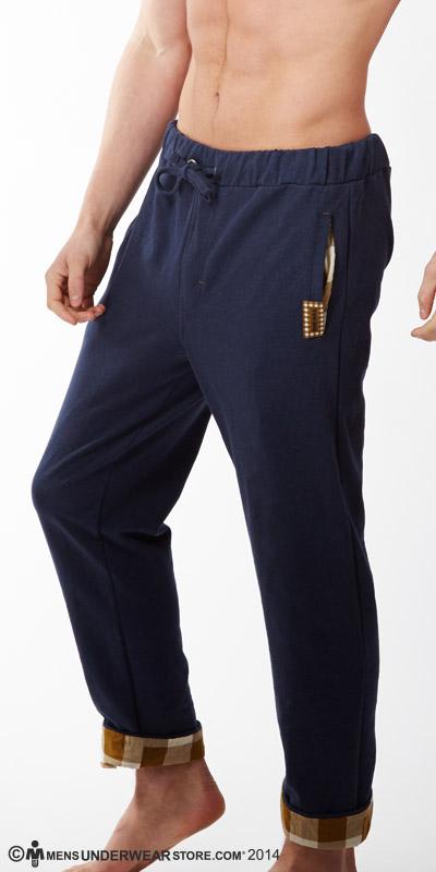 Diesel Plaid Lounge Massi Pants
