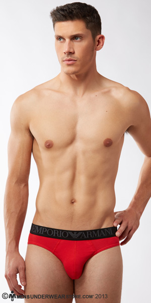 Emporio Armani Color Stretch Cotton Brief