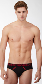 Emporio Armani Xmas Cotton Modal Brief