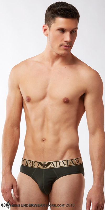Emporio Armani Pima Stretch Cotton Brief