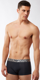 Emporio Armani Pima Stretch Cotton Trunk