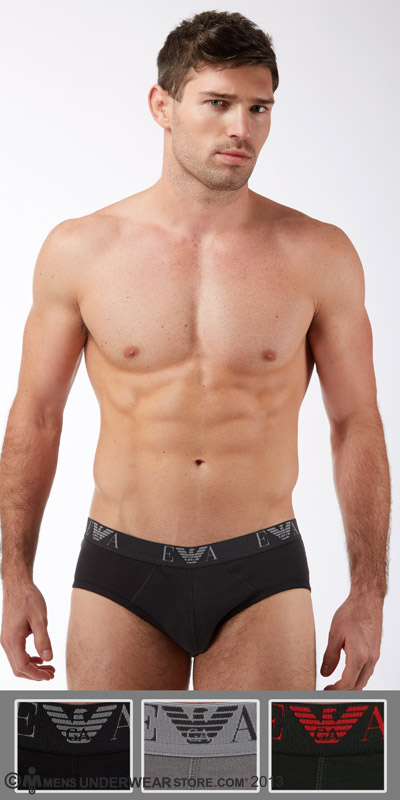 Emporio Armani Jersey Cotton 3-Pack Brief