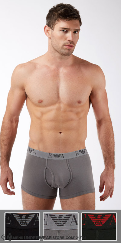Emporio Armani Jersey Cotton 3-Pack Trunk
