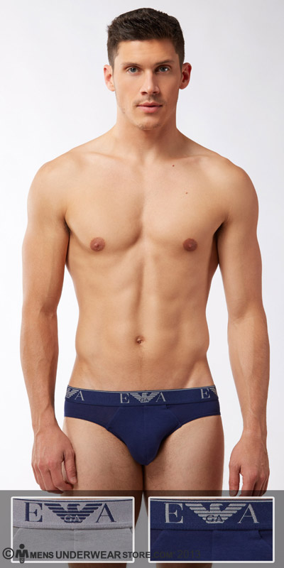 Emporio Armani 2-Pack Stretch Cotton Brief
