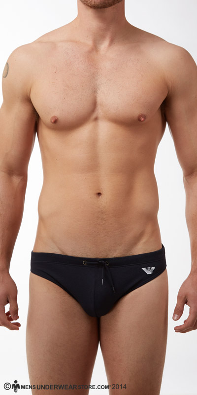 Emporio Armani Piquet Swim Briefs