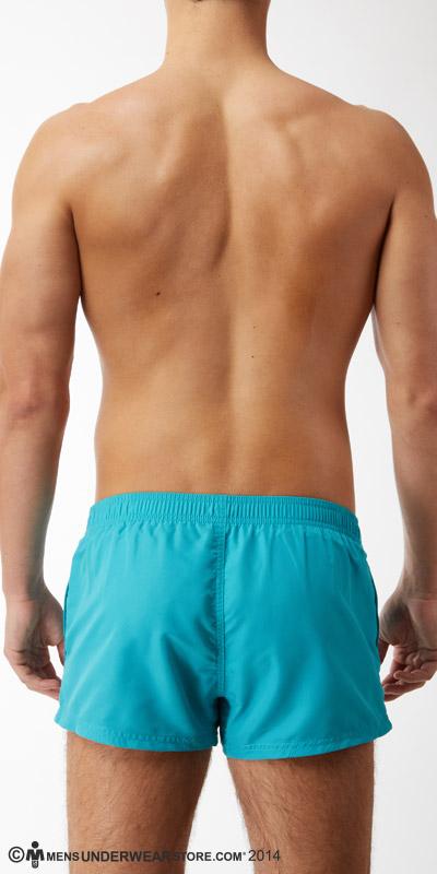 Emporio Armani Binding Logo Micro Swim Shorts