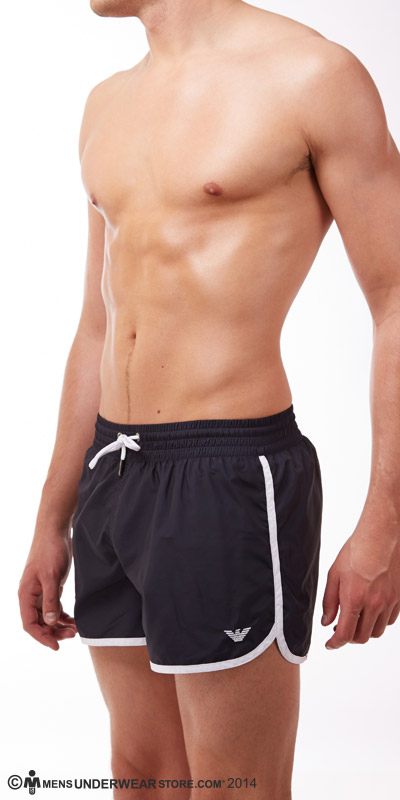 Emporio Armani Nylon Swim Shorts