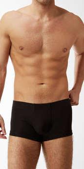 Emporio Armani Pima Rib Knit Trunks