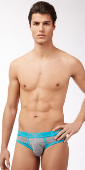 Emporio Armani Contrast Cotton Brief