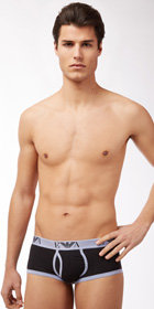 Emporio Armani Contrast Cotton Full Brief
