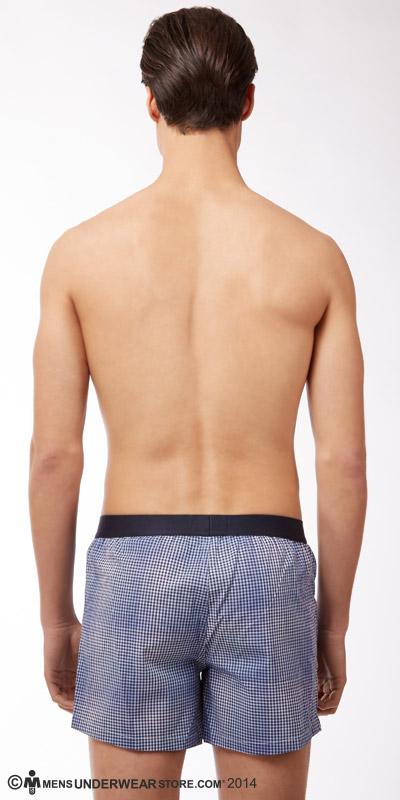 Emporio Armani Yarn-Dyed Boxers