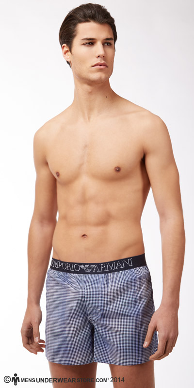 Emporio Armani Yarn-Dyed Boxers