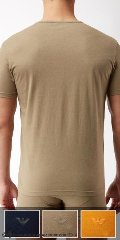 Emporio Armani Jersey Cotton 3-Pack V-Neck Shirt