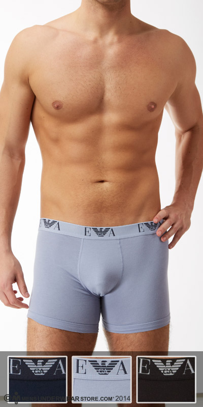 Emporio Armani Jersey Cotton 3-Pack Boxer Brief