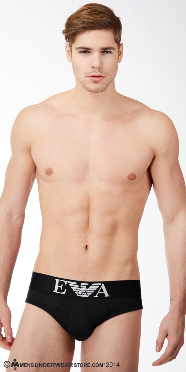 Emporio Armani Stretch Cotton Hip Brief