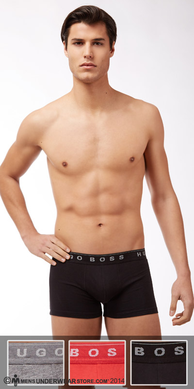 HUGO BOSS Perfect Cotton Trunk 3-Pack
