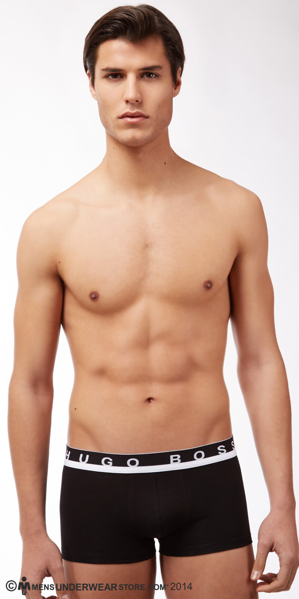 HUGO BOSS MOTION Stretch Cotton Boxer Trunk