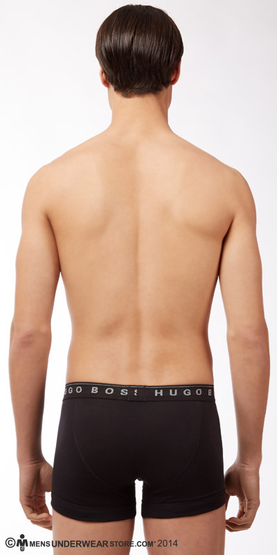 HUGO BOSS Perfect Cotton Boxer Briefs 3-Pack