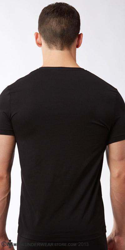 Hugo Boss Real Cool Cotton V-Neck T-Shirt