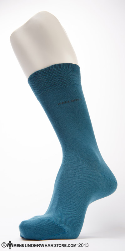 Hugo Boss Solid Cotton Sock