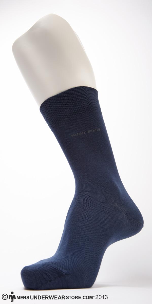 Hugo Boss Solid Cotton Sock