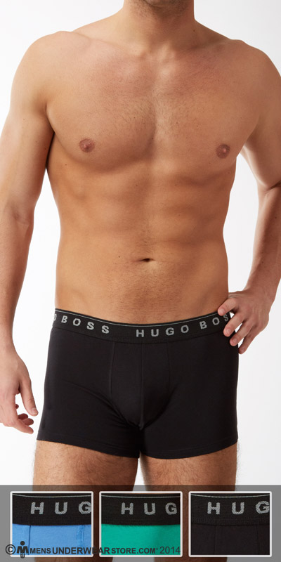 Hugo Boss Perfect Cotton 3-Pack Trunks