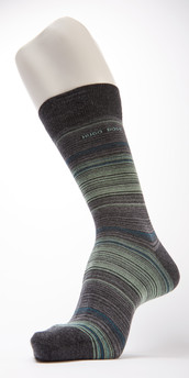 Hugo Boss Striped Cotton Sock