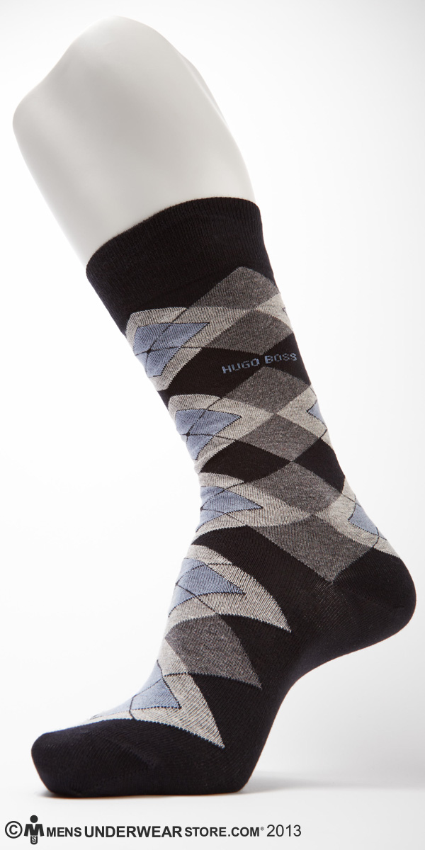 Hugo Boss Modern Argyle Cotton Sock