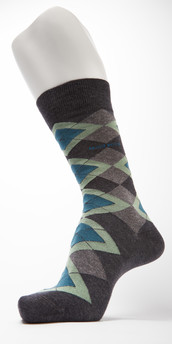 Hugo Boss Modern Argyle Cotton Sock