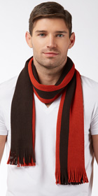 Hugo Boss Modern Warp Knit Scarf