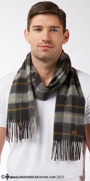 Hugo Boss Classic Wool Cashmere Mix Scarf