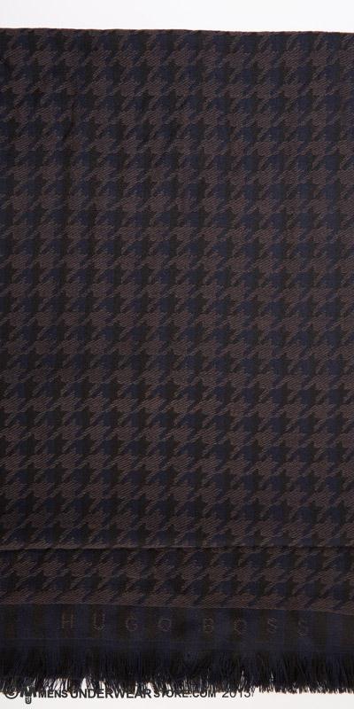 Hugo Boss Wool Logo Scarf