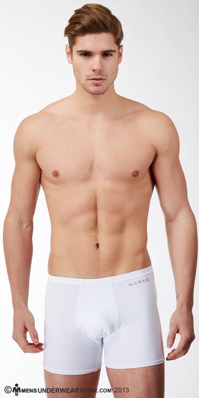 Naked Microfiber Boxer Briefs