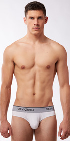 Obviously Naked Hipster Brief with Contour Pouch