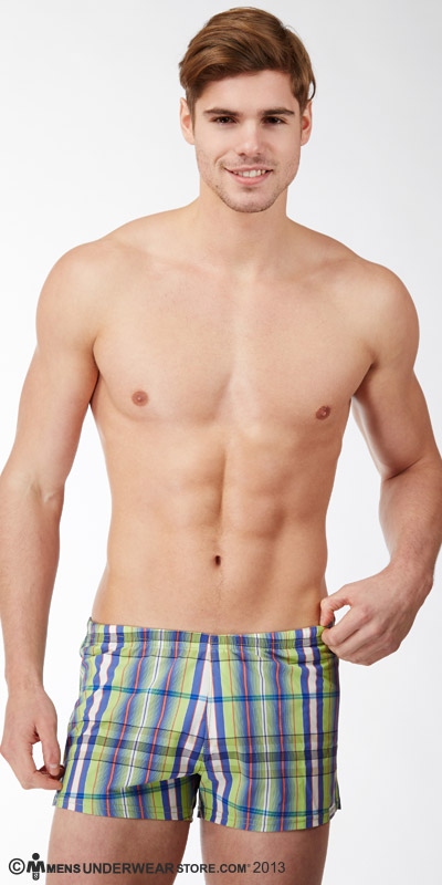 Sauvage Como Italia Plaid Classic Swim