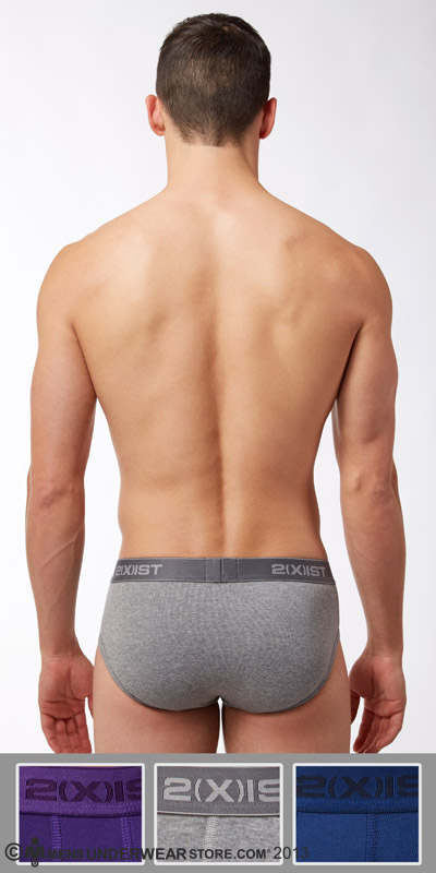 2XIST Essential 3-Pack Contour Brief